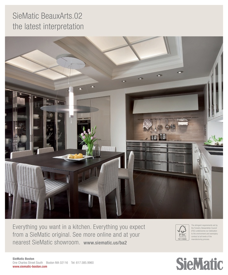 Taupe and steel modern kitchen   Home Design   Pinterest