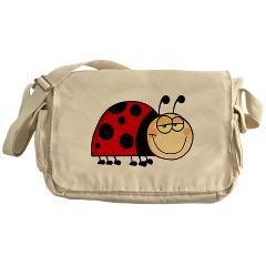 Cute Ladybug Messenger Bag > Cute Ladybug > Under The Sea Back to School www.cafepress.com/underthesea2