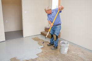 How to paint floors