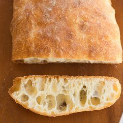 Ciabatta Bread Recipe | Brown Eyed Baker This was really good, but you need to make the starter the night before. After the overnight rise, you'll need about 4 hours to make the bread, let it rise, 25 minutes to bake and then some time to cool. It's not hard, just time intensive.