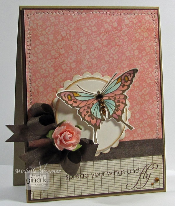 Wonderful Card Making Ideas Gina K Part - 1: Stop And Stamp The Roses: Gina K Designs Release Inspiration Hop: Day 4 ·  Butterfly CardsCraft ...