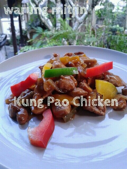 Kung Pao Chicken, www.warungmitjin.co, Ubud-Bali