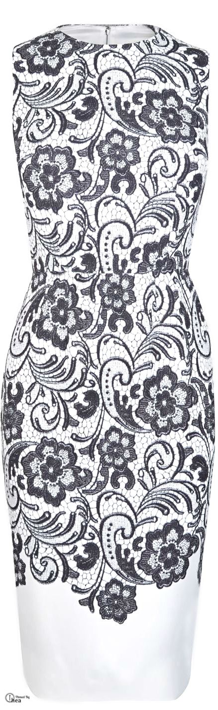 Dolce & Gabbana ● lace print shift dress ~ what to wear to a Wedding? Beautifuls.com Members VIP Fashion Club 40-80% Off Luxury Fashion Brands