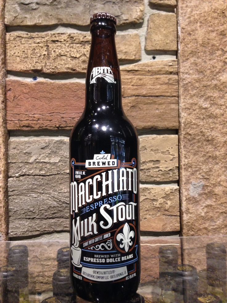 Macchiato Espresso Milk Stout, Abita Brewing Co.