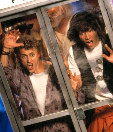 Best Comedy Movie Quotes Of All Time: 86 Best Images About Bill And Ted On Pinterest