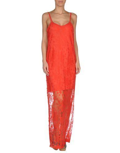 ¡Cómpralo ya!. TWIN-SET SIMONA BARBIERI Vestido de playa mujer. encaje, sin aplicaciones, monocolor, interior desmontable, sin bolsillo , vestidoinformal, casual, informales, informal, day, kleidcasual, vestidoinformal, robeinformelle, vestitoinformale, día. Vestido informal  de mujer color rojo de TWIN-SET SIMONA BARBIERI.