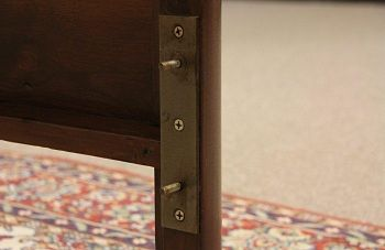 Converting an Antique Bed to a Modern Queen or King Size - The Harp Gallery
