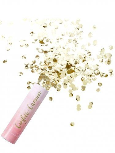 Pick and Mix - Pink Ombre Compressed Air Confetti Cannon Popper