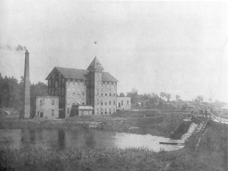 Penman's Mill, Port Dover, 1908, dam on the right is the one that preceded Misner's dam. http://www.escapetodover.com/photo-gallery-then-page-4.htm