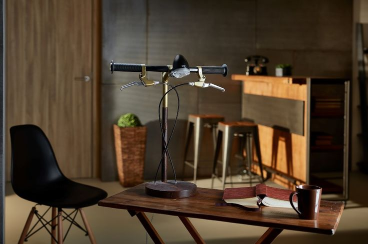 Bicycle-Inspired Handlebar Lamps From Industrial Kid