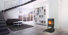 Jøtul F 163 es perfecta para casas de bajo consumo energético – y es una de las estufas con combustión más limpia del mundo.