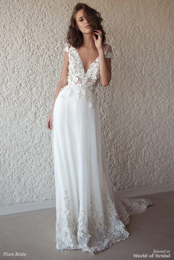 5454f8649d20 Flora Bridal 2018 Wedding Dresses | Wedding stuff | Wedding dresses ...