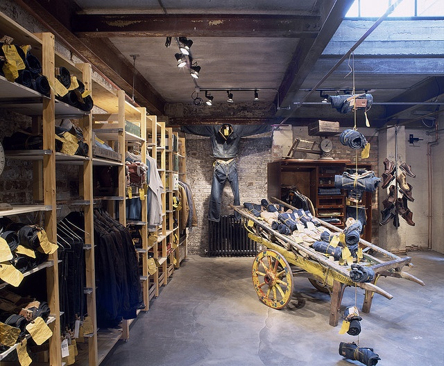 Retail Design | Shop Design | Fashion Store Interior Fashion Shops | Timberland Boot Company