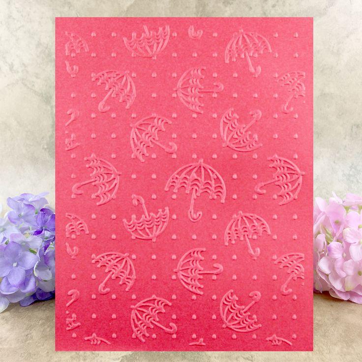 >> Click to Buy << Umbrella printing pattern embossing folder plastic die scrapbook stencils for diy paper card making craft envelop decor gift box #Affiliate