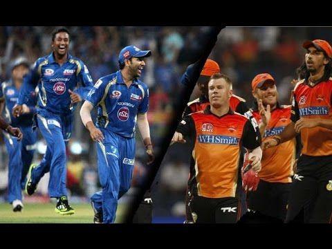 IPL 2017 MI vs SRH live Match Preview || MI vs SRH Live Score || SRH vs ...