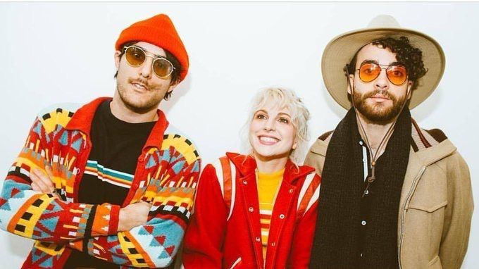 Paramore and Nick Grimshaw for BBC Radio 1
