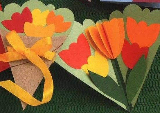 Mother day crafts for kids.