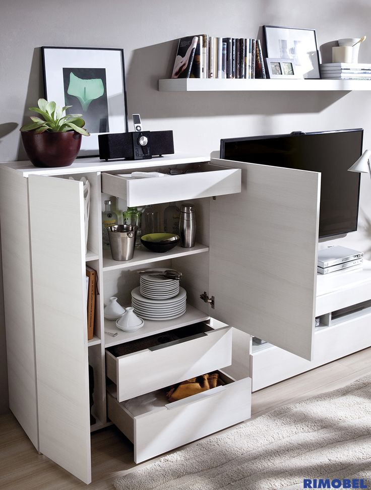 DUO 21. Mueble auxiliar para almacenar todo aquello que no sabes donde poner!