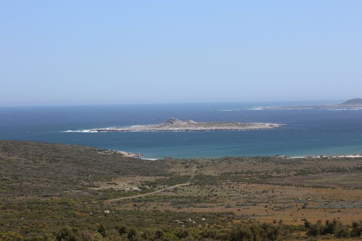 Little island in West Coast National Park, Langebaan, South Africa
