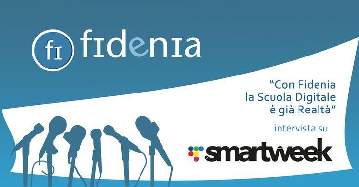 A raccontare la storia di #Fidenia questa volta è il webmagazine #Smartweek, che in quest'intervista ripercorre la nascita di Fidenia, il suo presente e i suoi progetti futuri... www.fidenia.com #scuola #didattica #insegnanti #digitale #tecnologia