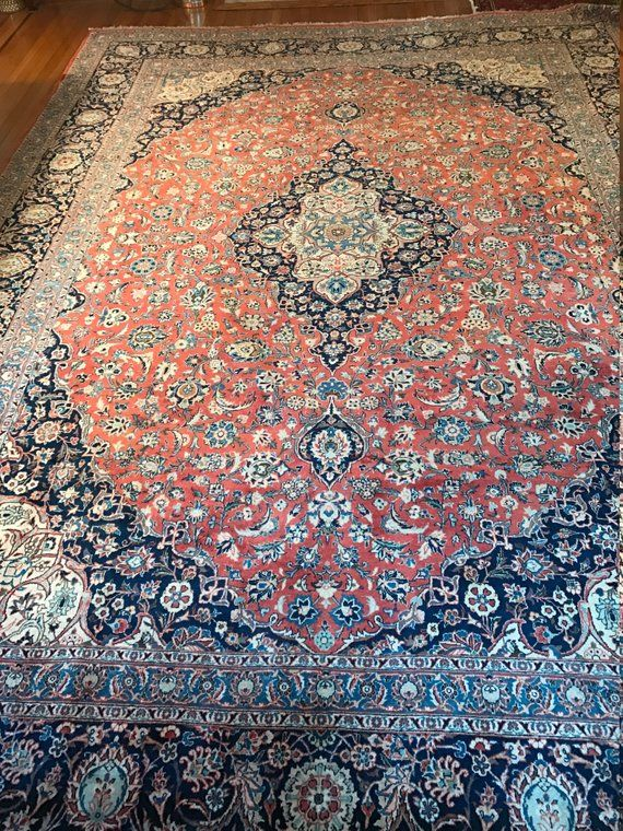 Hand Knotted Antique Collector S Piece 1930 S Pakistani Rug Floral Design Central Medallion Mint Condition Manchester Pakistani Rugs Rugs Pakistani Carpet