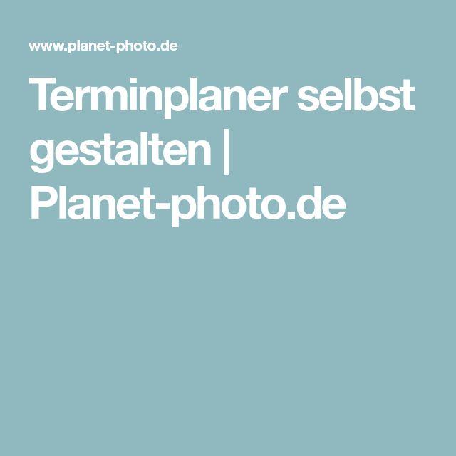 Terminplaner selbst gestalten | Planet-photo.de