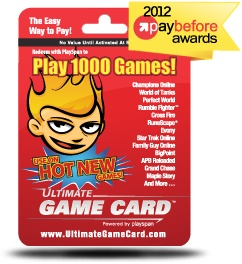 The Ultimate Game Card can be used on so many games, probably the most flexible card around with over 1000 games that accept it.