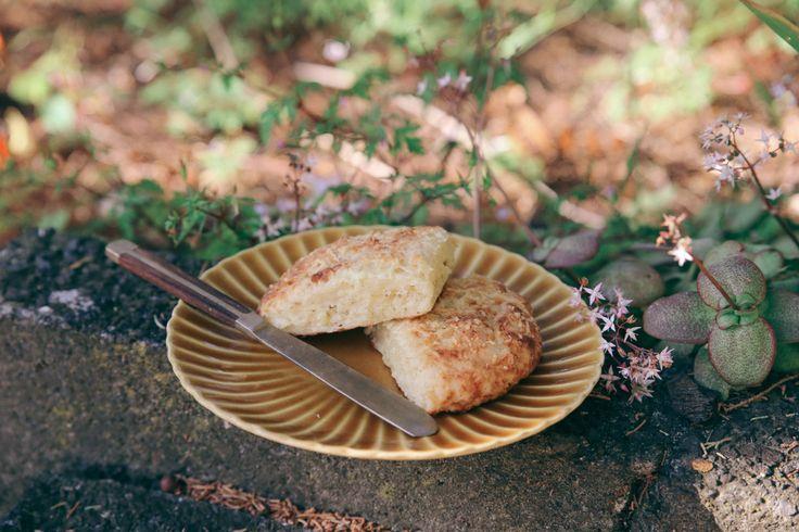 Light and fluffy yoghurt scones