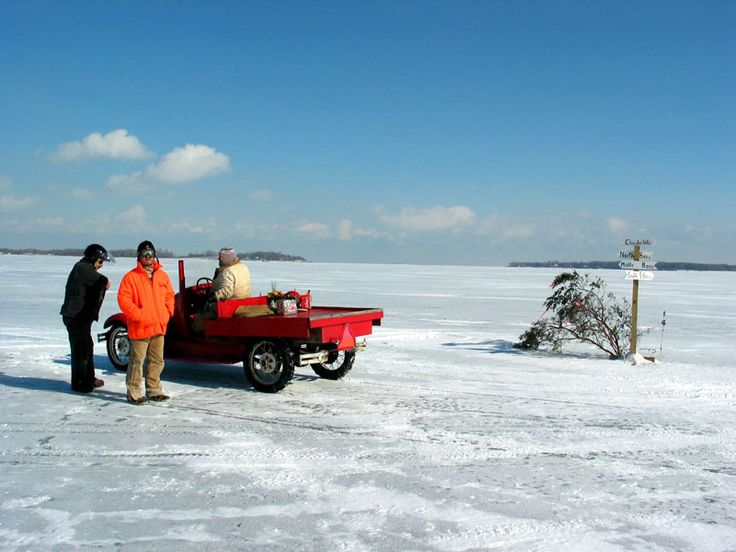 47 best at the lake images on pinterest for Lake erie ice fishing