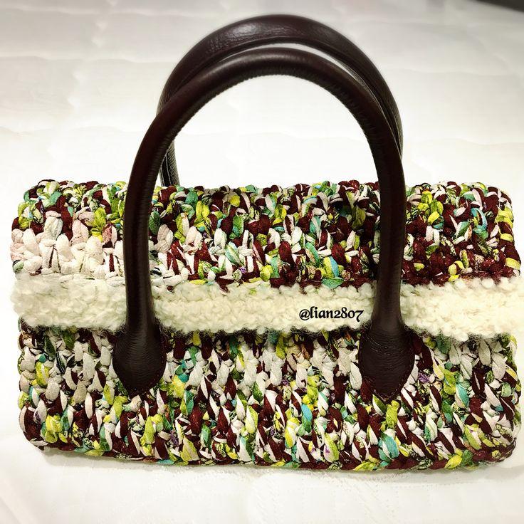 Tyarn crocheted bag