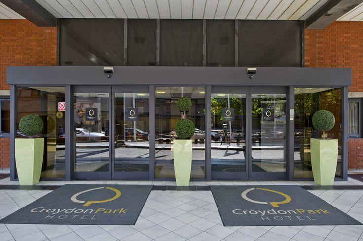 Croydon Park Hotel entrance