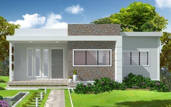 Casa Salvador: Projeto arquitetônico • Cód. 304 • R$ 315,00