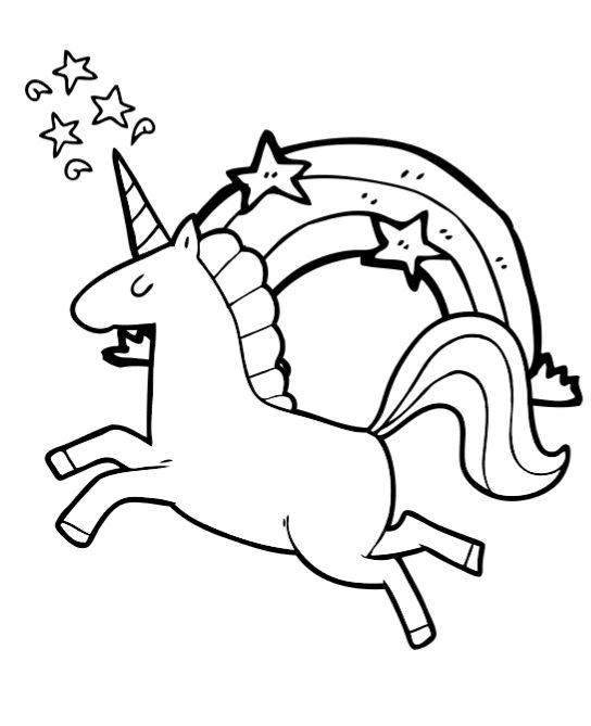 Free Unicorn Coloring Book Pages So cute! Unicorn