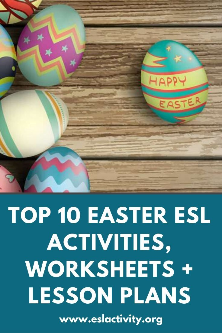 Easter ESL Activities, Games, Worksheets and Lesson Plans