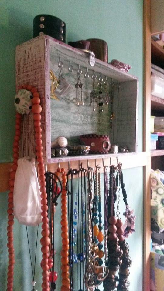 Oltre 25 fantastiche idee su appendi collane su pinterest - Porta collane ikea ...