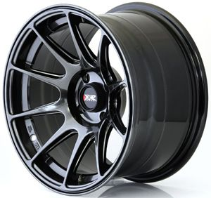 XXR 527 15 X - 8.25 - ET0 - 4 X 100 - BLACK CHROME / XR527-1582-1CB