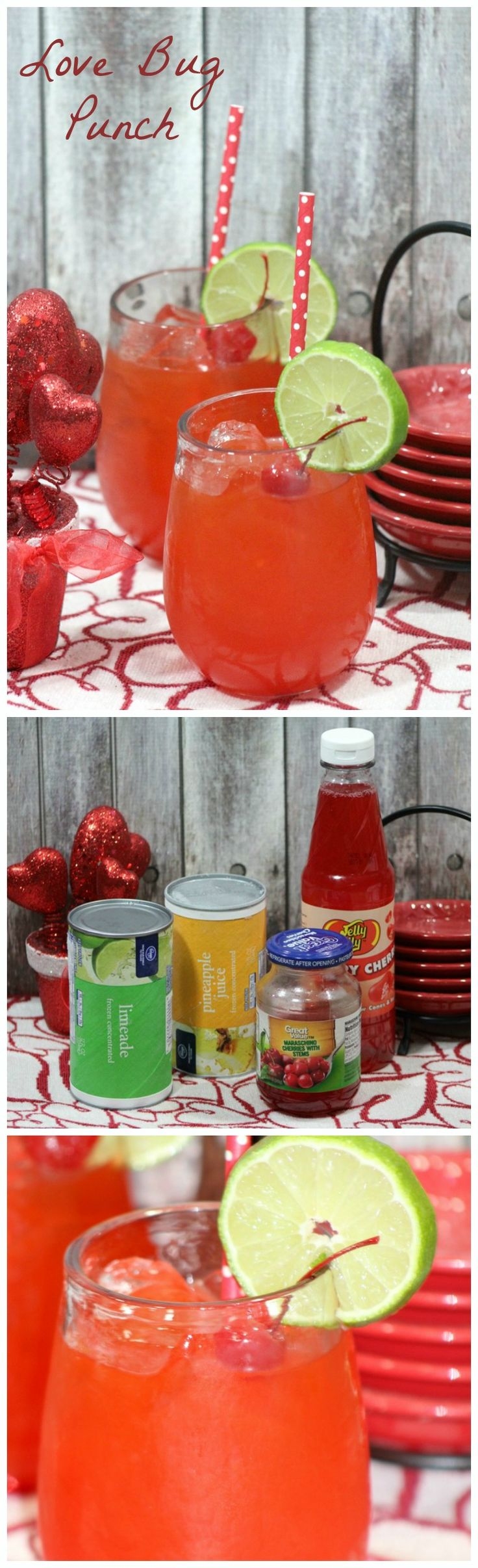 Looking for fun Valentine's day recipes? This one is so cute!  Bookmark this Love Bug Valentine's Day drink for kids now and make it on the special day for your family!