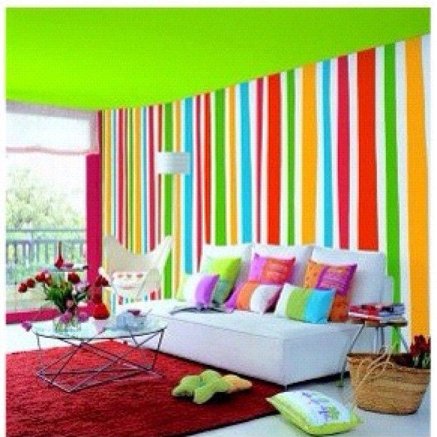 Rainbow Kids Room: 30 Best Over The Rainbow Kids Bedrooms Images On Pinterest