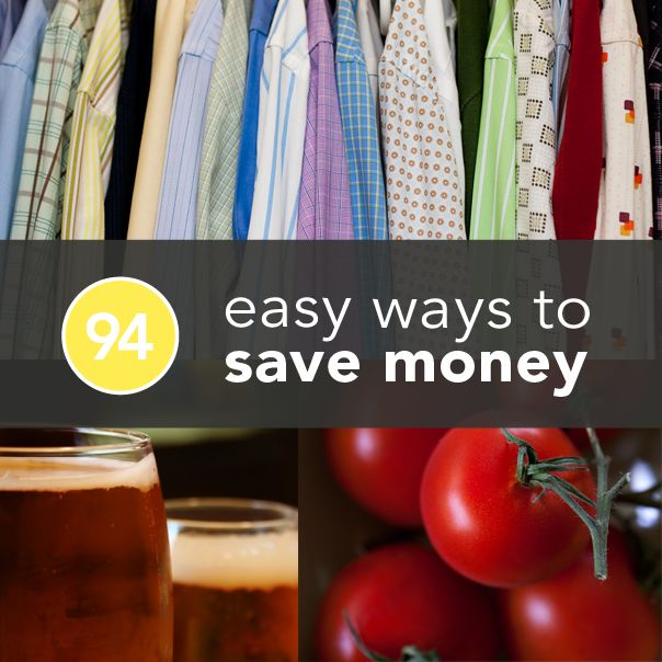 94 Smart and Easy Ways To Save Money Now Posted on 09/16/2013 by Nicole McDermott