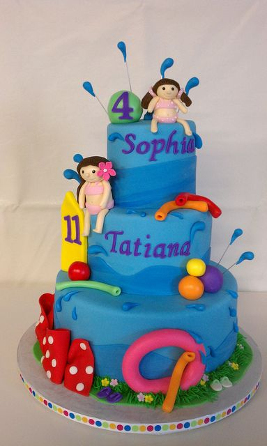 81 Best Images About Cakes Pool Swimming Cakes On Pinterest Swimming Pool Cakes Party