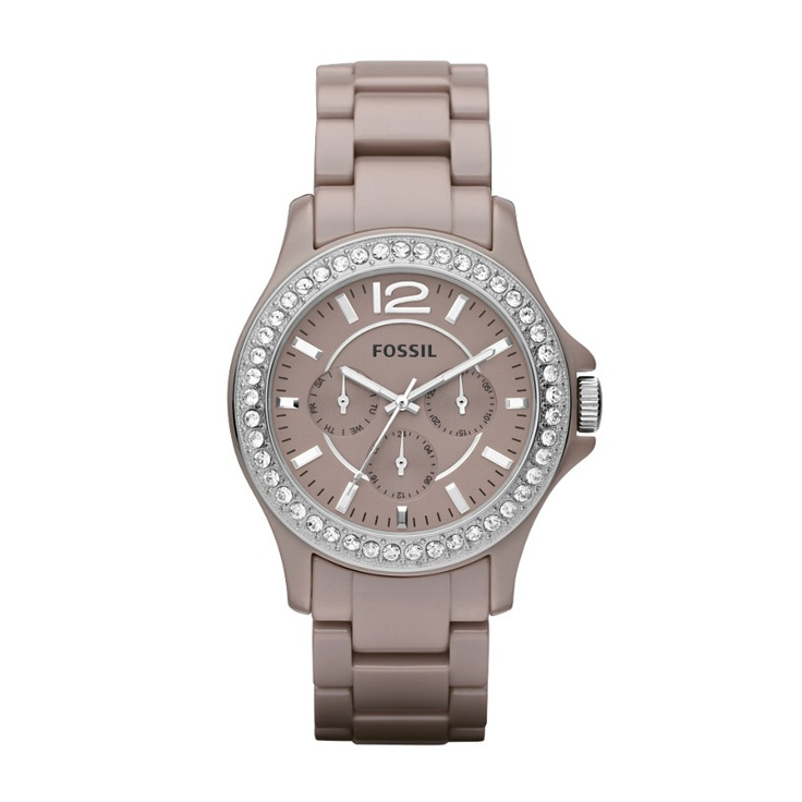 Fossil Riley Ceramic Watch – Antique Pearl