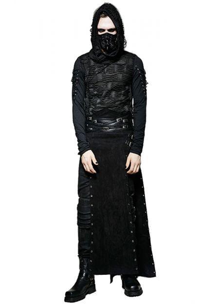 Punk Rave Gothic Mens Katana Hakama