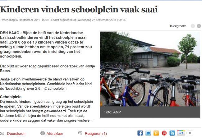 Kinderen_vinden_schoolplein_vaak_saai