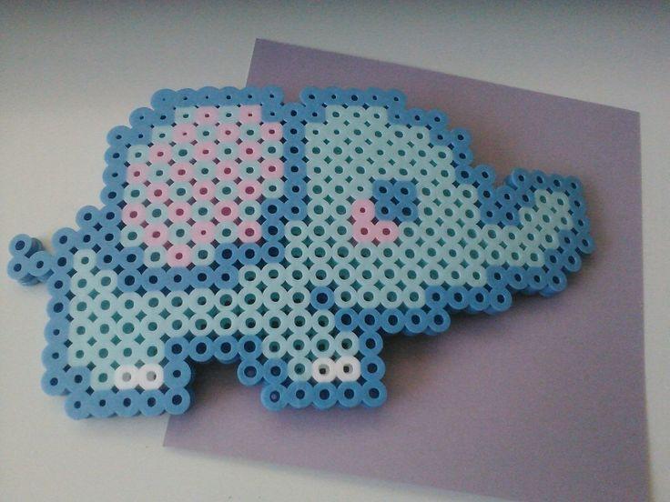 perler patterns elephant