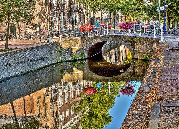 Summery Canal by peridotphotography on Etsy, €30.00