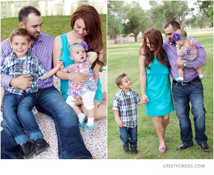 outfits for family pictures | The Boles spring time clovis, nm family session taken by Portrait ...