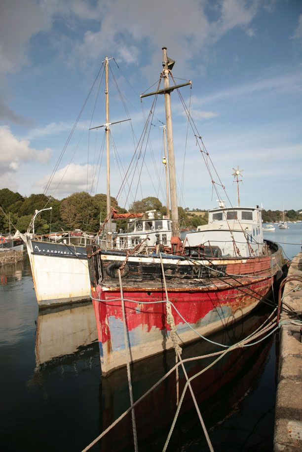 Old Boats - Penryn Quay