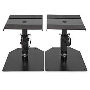 Desktop Monitor Speaker Stands by Gear4music, Pair