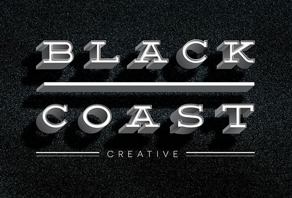 B C C P R O J E C T on Behance #logo #branding #black #sand #coast #design