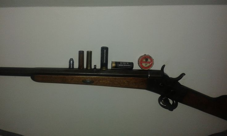 one of my rem rb. blackpowder guns,from 1887
